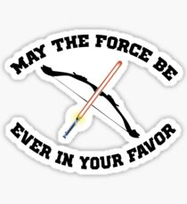 THE HUNGER GAMES MEETS STAR WARS Sticker