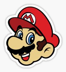 Happy Mario Sticker