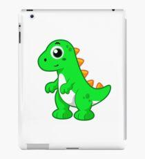 Cute illustration of Tyrannosaurus Rex. iPad Case/Skin