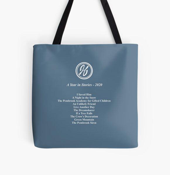 2020 Story Tour - White Print All Over Print Tote Bag