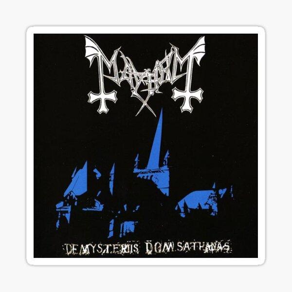 de mysteriis dom sathanas / mayhem Sticker