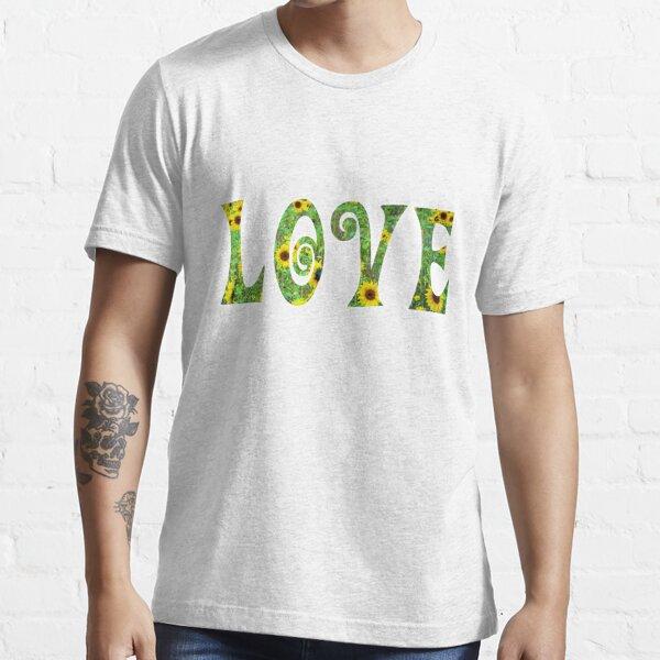 Sunflower Hippy Love Essential T-Shirt