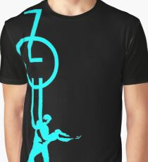 lets dance zouk - blue Graphic T-Shirt
