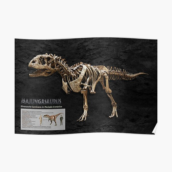Majungasaurus (Spanish version) Poster