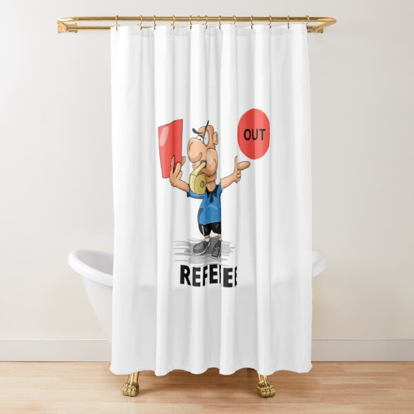 REFEREE Shower Curtain