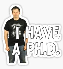 Brian Wecht, Ph.D. Sticker