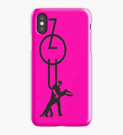 lets dance zouk - black iPhone Case