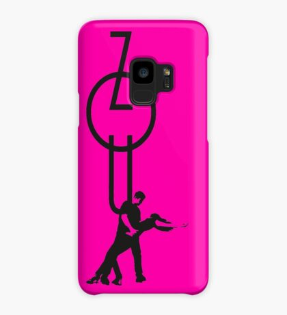 lets dance zouk - black Case/Skin for Samsung Galaxy