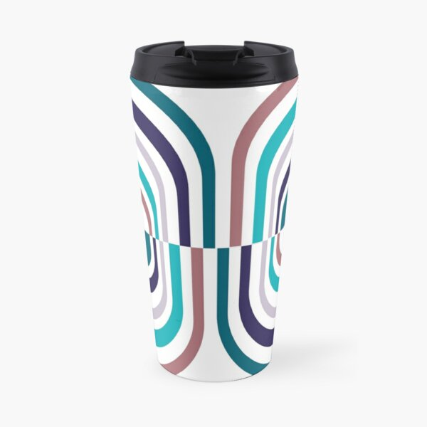 Striped Pill Travel Mug