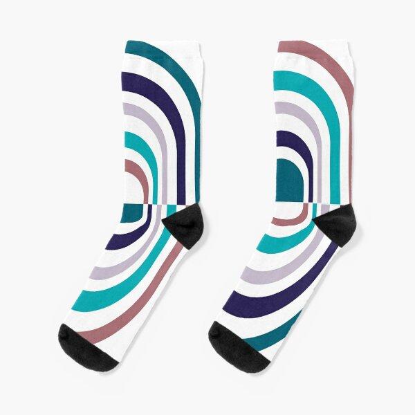 Striped Pill Socks