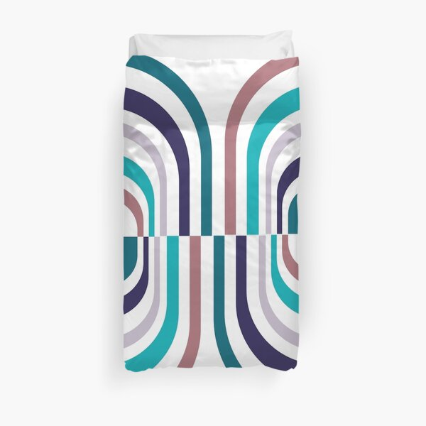 Striped Pill Duvet Cover