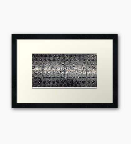 Water Table 1 Framed Print