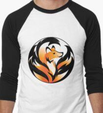 Kitsune Mon II Men's Baseball ¾ T-Shirt