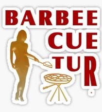 The Barbee Cue Tur Sticker