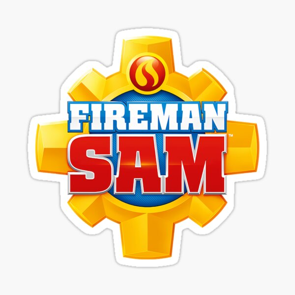 Fireman Sam simbol! Sticker