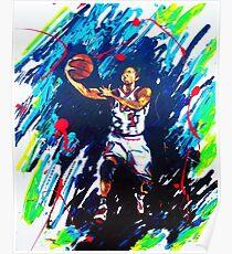 Derricks Rose Chicago Bulls Poster