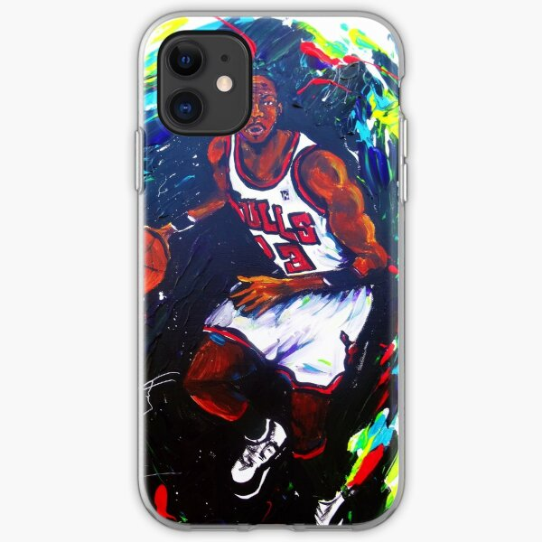 Michael Jordan- Sports iPhone Soft Case