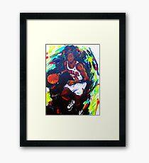 Michael Jordan- Sports Framed Print