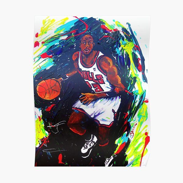 Michael Jordan- Sports Poster
