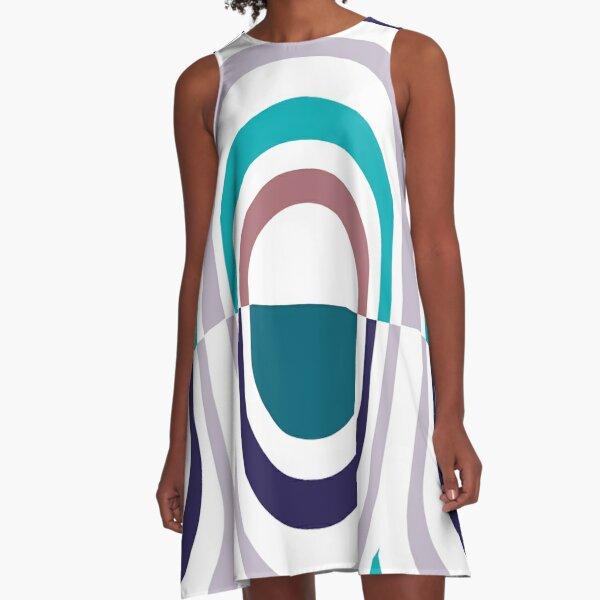 Feather A-Line Dress