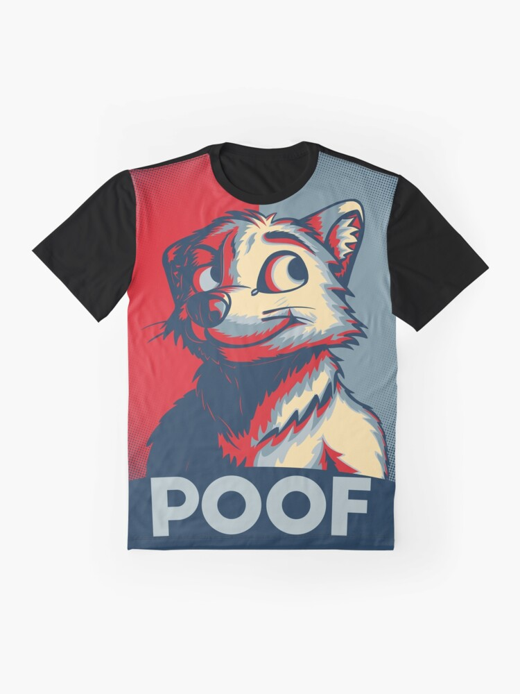Alternate view of POOF Graphic T-Shirt