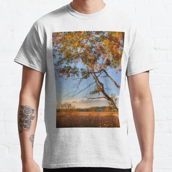 A Tree's View of Autumn on the Marsh Classic T-Shirt