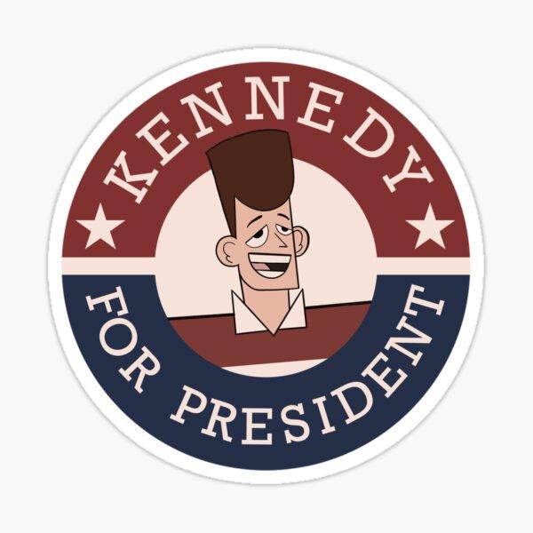 JFK for President Sticker