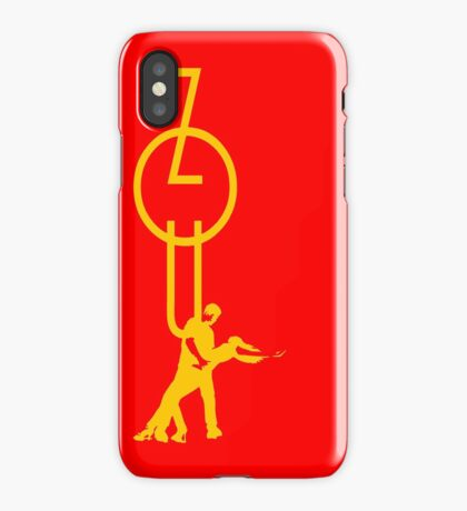 lets dance zouk - yellow iPhone Case
