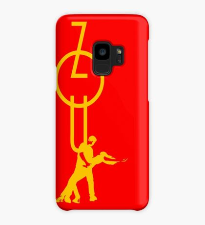 lets dance zouk - yellow Case/Skin for Samsung Galaxy