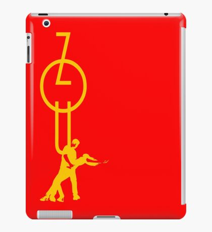 lets dance zouk - yellow iPad Case/Skin