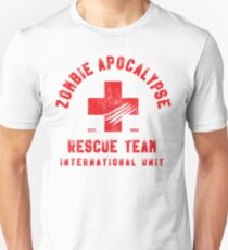 Zombie Apocalypse Rescue Team Unisex T-Shirt