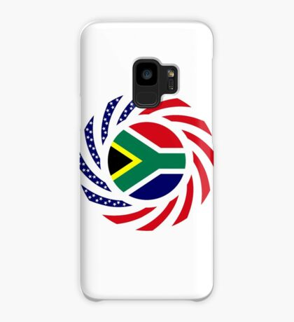 South African American Multinational Patriot Flag Series Case/Skin for Samsung Galaxy