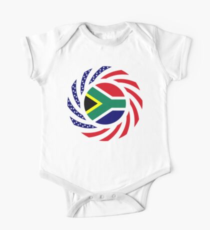 South African American Multinational Patriot Flag Series Kids Clothes