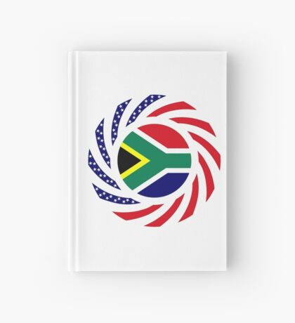 South African American Multinational Patriot Flag Series Hardcover Journal
