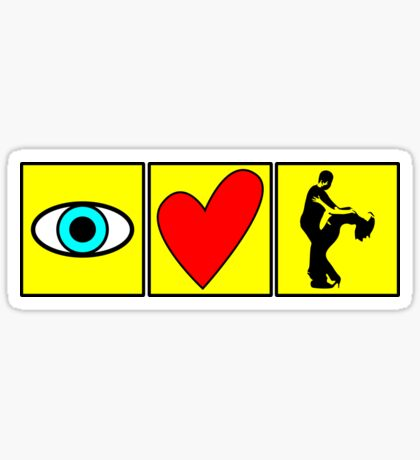 i love dance - pictogram Sticker