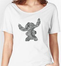 Stitch Zentangle Women's Relaxed Fit T-Shirt