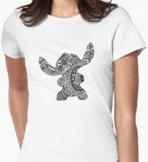 Camiseta entallada Stitch Zentangle