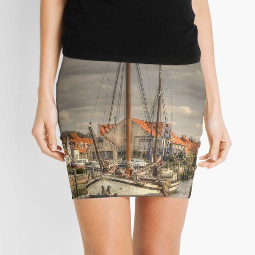 'Home is where the anchor drops' Mini Skirt
