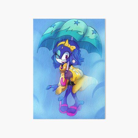 Princess Undina Art Board Print