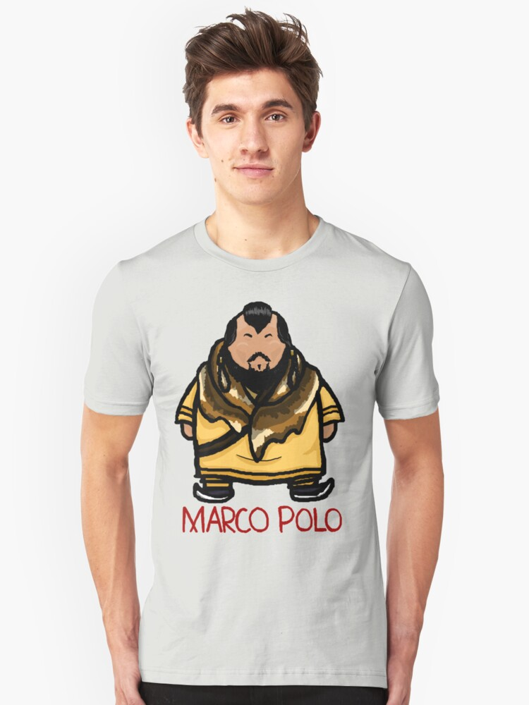 kublai khan marco polo unisex t shirt by moosesquirrel. Black Bedroom Furniture Sets. Home Design Ideas