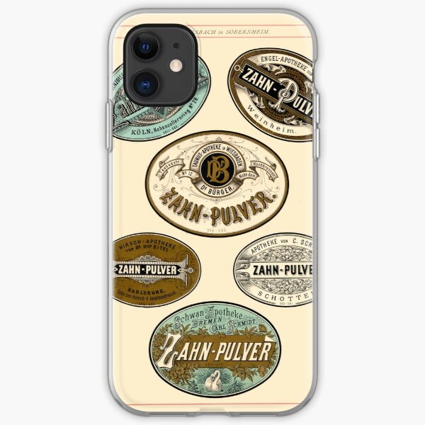 Nineteenth Century Apothecary Labels | 01 iPhone Soft Case