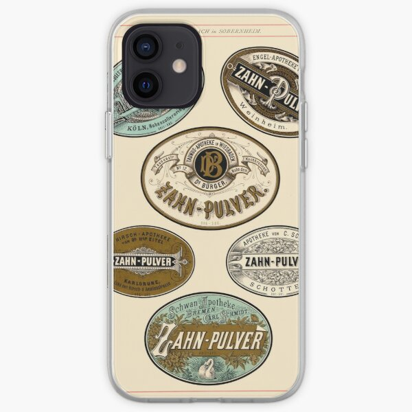 Nineteenth Century Apothecary Labels   01 iPhone Soft Case