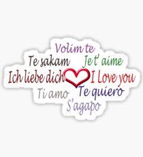 Love in 8 languages :) Sticker