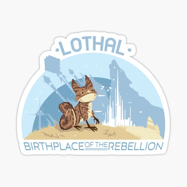 Birthplace of the Rebellion Sticker