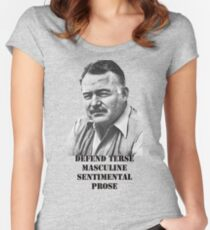 Hemingway  Fitted Scoop T-Shirt