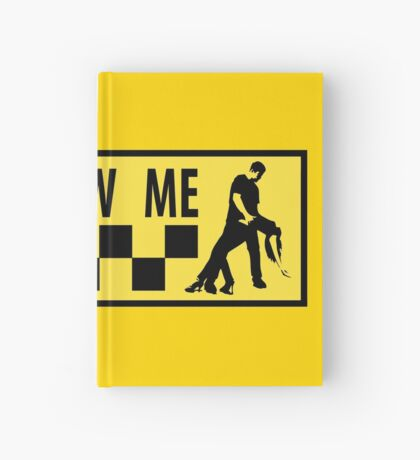 follow me dancer Hardcover Journal