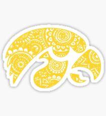 Iowa Doodle Sticker