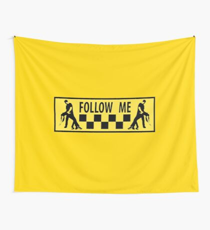 follow me dancer Wall Tapestry