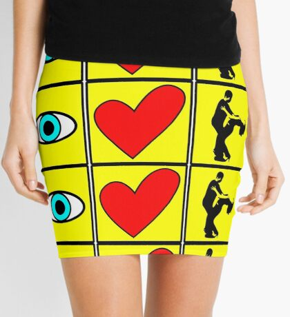 i love dance - pictogram Mini Skirt