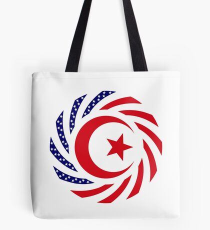 Muslim American Multinational Patriot Flag Series 1.0 Tote Bag